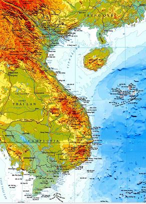 Bài số 2: Vị trí địa lí và lãnh thổ Việt Nam và Atlat địa lí