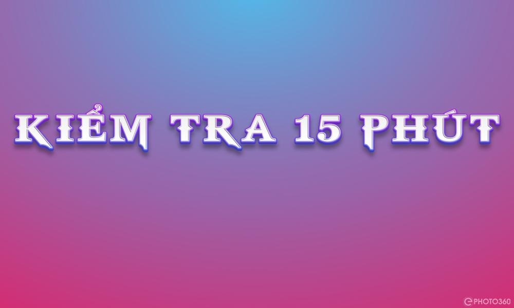 KIỂM TRA 15 PHÚT TẬP HỢP